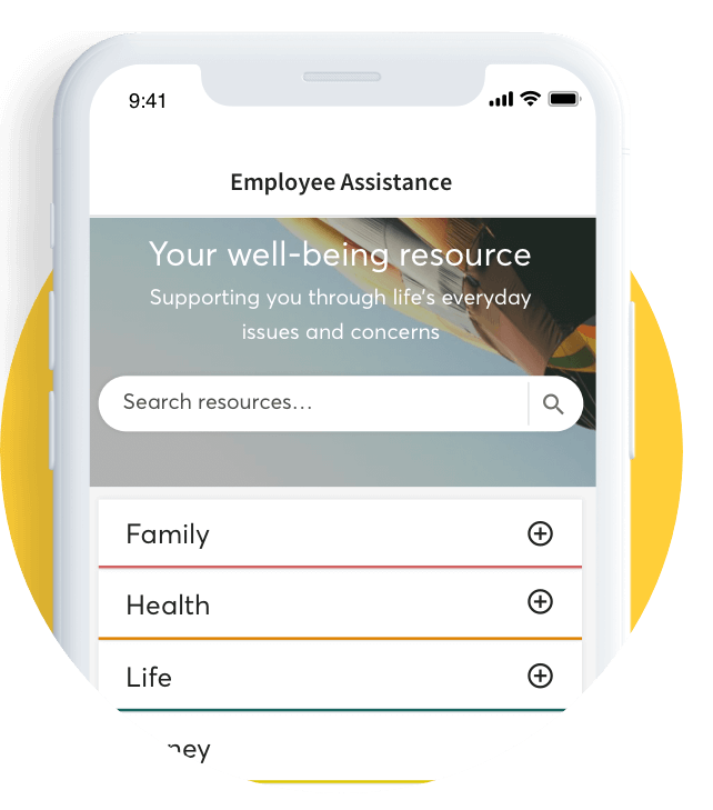 Employee Assistance Programme Hypnotherapy App Landing Page